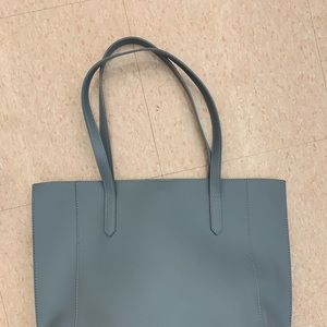 A New Day Dusty Blue Tote
